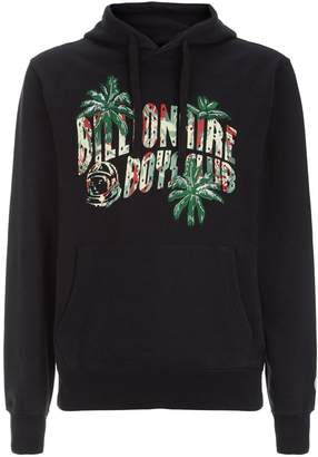 Billionaire Boys Club Camouflage Palm Tree Embroidered Hoodie