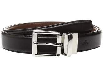 7356ad298633 Polo Ralph Lauren Black And Brown Reversible Leather Belt - ShopStyle
