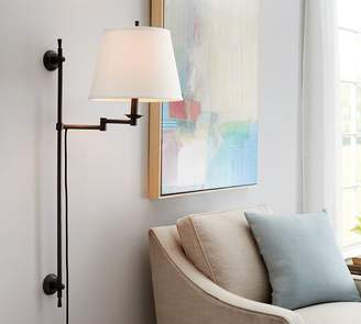 Pottery Barn Elise Adjustable Sconce