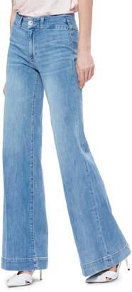 Paige Sutton High Waist Wide Leg Jeans