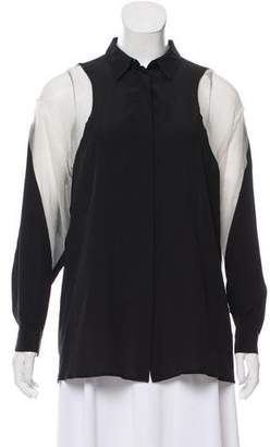 Stella McCartney Oversize Silk Blouse