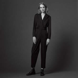 Sandro Suit-style playsuit