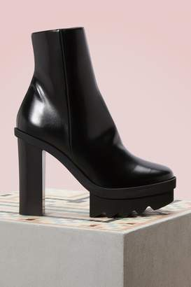 Stella McCartney Platform Ankle Boots quality outlet store T5sTJNRuZq