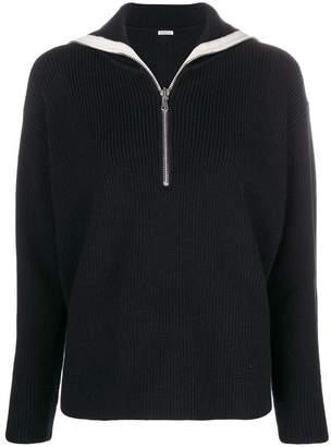 Barena zipped neck jumper