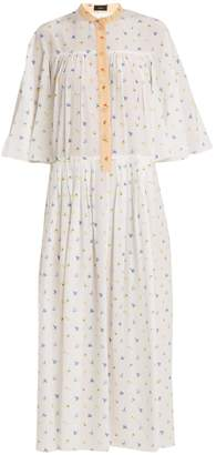 Joseph Morrisson floral-print silk dress