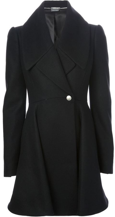 Alexander McQueen double breasted coat