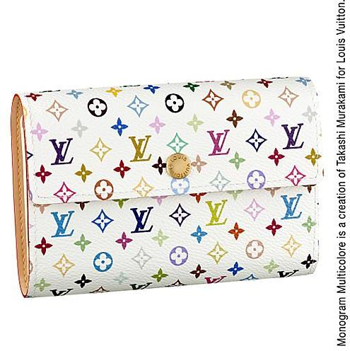 Louis Vuitton Monogram Multicolore Alexandra Wallet