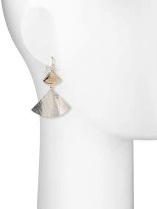 Nakamol Crystal & Fan Drop Earrings