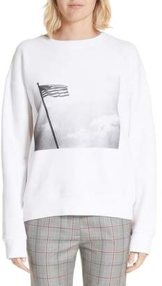Calvin Klein x Andy Warhol Foundation American Flag Graphic Sweatshirt