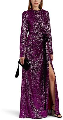 Prabal Gurung Women's Sequined Draped Gown
