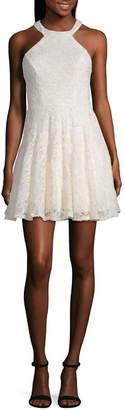 B. Darlin Bee Darlin Bee Smart Sleeveless Party Dress-Juniors