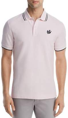 McQ Tipped Swallow Polo Shirt