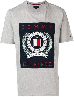 1403c2df4 Tommy Hilfiger Gray Men s Shirts - ShopStyle