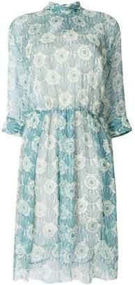 Prada chiffon printed dress