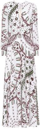Valentino Zandra Leopard cady gown