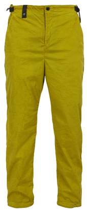 C.P. Company Side Zip Stretch Nylon Trackpants - Mens - Yellow