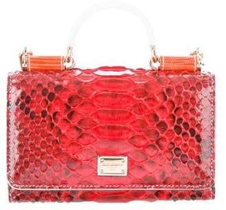 Dolce & Gabbana Python Miss Sicily Phone Bag