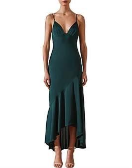 Shona Joy Luxe Bias Frill Dress
