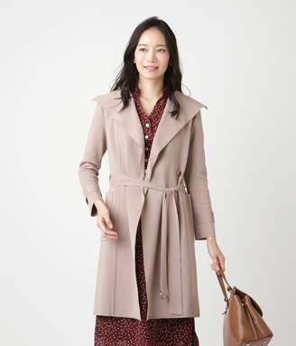 NEWYORKER women's 【クリアランスセール】【店舗限定】ミラノリブ ニットトレンチコート(日本製)
