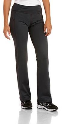 Danskin Women's Poly Straight Leg Pant
