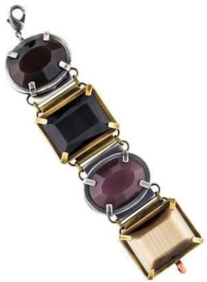 Missoni Faux Stone Link Bracelet