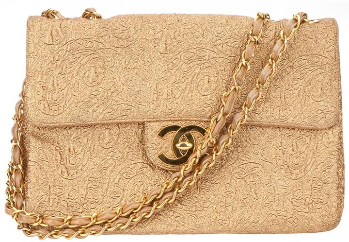 Chanel large shoulder bag