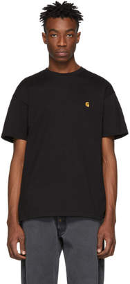 Carhartt Work In Progress Black and Gold Chase T-Shirt