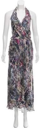 Haute Hippie Halter Silk Dress w/ Tags
