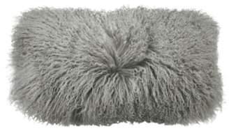 Donna Karan New York Collection Flokati Genuine Sheepskin Pillow