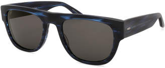 Barton Perreira Men's Kahuna Two-Tone Acetate Sunglasses