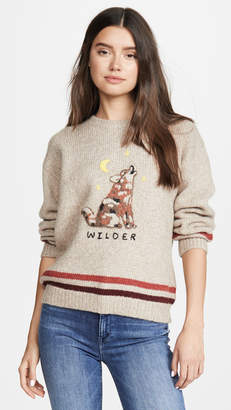 Mother The Alpaca Boxy Pullover Sweater