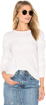 amour vert Coco Sweater in Ivory $158 thestylecure.com
