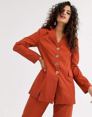 UNIQUE21 tailored 4 button blazer