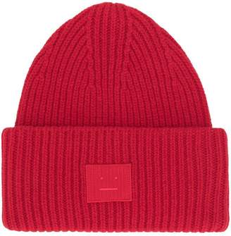 aac023d22e6fa at Farfetch · Acne Studios ribbed beanie hat