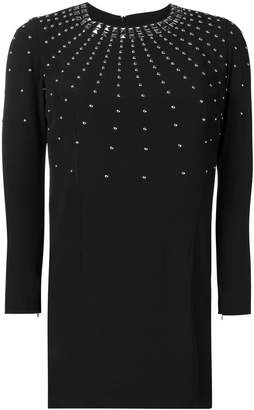 John Richmond stud embellished mini dress