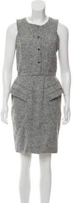 Fendi Mini Alpaca Dress