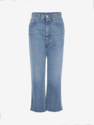 Alexander McQueen Mom Denim Pants