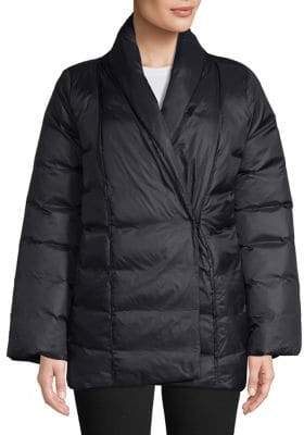 Eileen Fisher High Shawl Collar Jacket