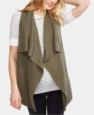 A Pea in the Pod Maternity Cotton Draped Vest