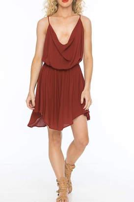 Indah Tahani Berry Dress