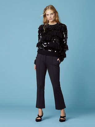 Diane von Furstenberg Alix Sequin Pullover