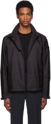 Prada Black Nylon Harrington Jacket