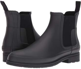 Hunter Refined Dark Sole Chelsea Boots Men's Boots