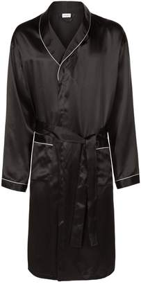 Zimmerli Satin Mid-Length Robe