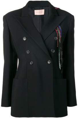 Christopher Kane embellished formal blazer