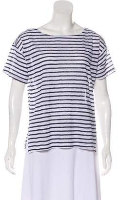 Band Of Outsiders Striped Short Sleeve Top w/ Tags