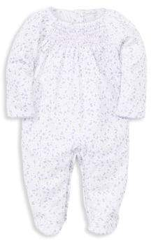 Kissy Kissy Baby's Mini Blooms Pima Cotton Footie