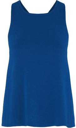 Autumn Cashmere Crossover Stretch-Jersey Tank