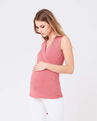 Ripe Maternity Embrace Tank Mini Stripe