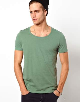 Asos Design T-Shirt With Scoop Neck